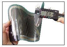 極薄のPTC面状発熱体