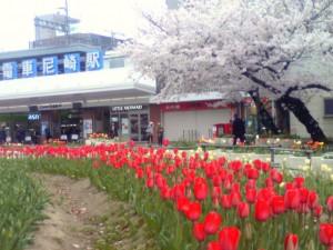 尼崎駅前 2013年4月2日