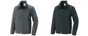 アイトス10321 防風ニットジャケット ブラック・グレー