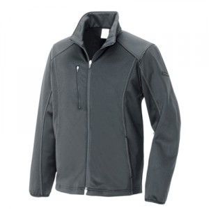 アイトス10321 防風ニットジャケット グレー