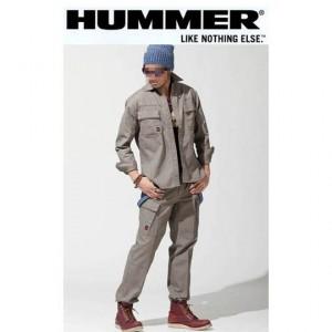 アタックベース HUMMER(ハマー)ブランド 801-6長袖シャツ 807-1カーゴパンツ