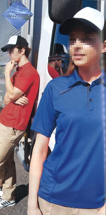 AZ551033 半袖ポロシャツ着用例