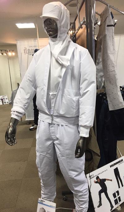 アタックベース_白衣空調服