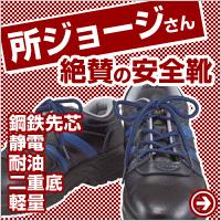 所ジョージさん絶賛の安全靴 JW-753の秘密