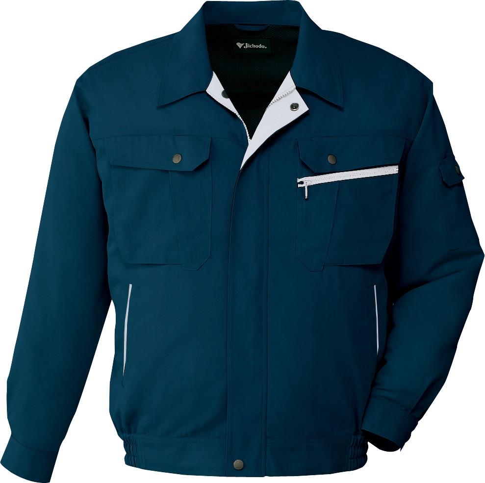 自重堂作業服86200シリーズ 接触冷感と高い通気性のある素材を使用したクールビズ対応作業服