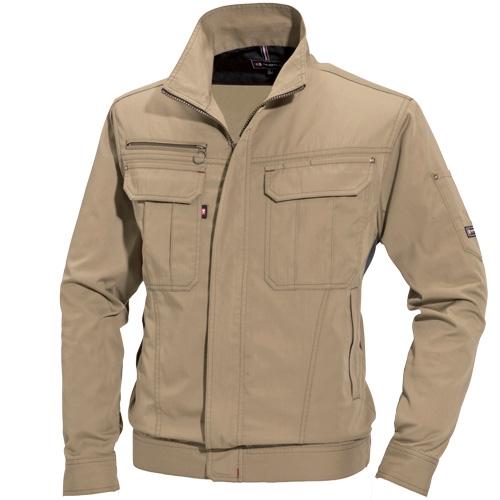 バートル作業服(旧クロカメ被服)6101シリーズ 高品質な日本製T/Cバーバリー素材を使用した作業服