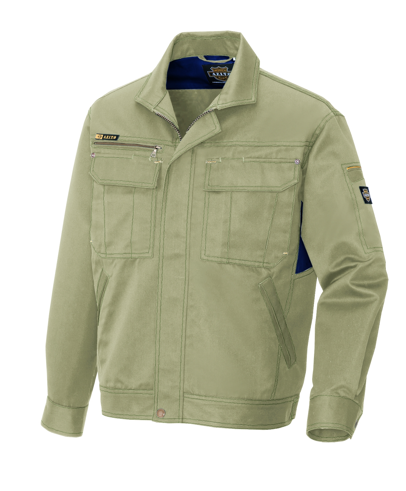 アイトス作業服AZ-3801シリーズ アジトプロフェッショナル 作業服