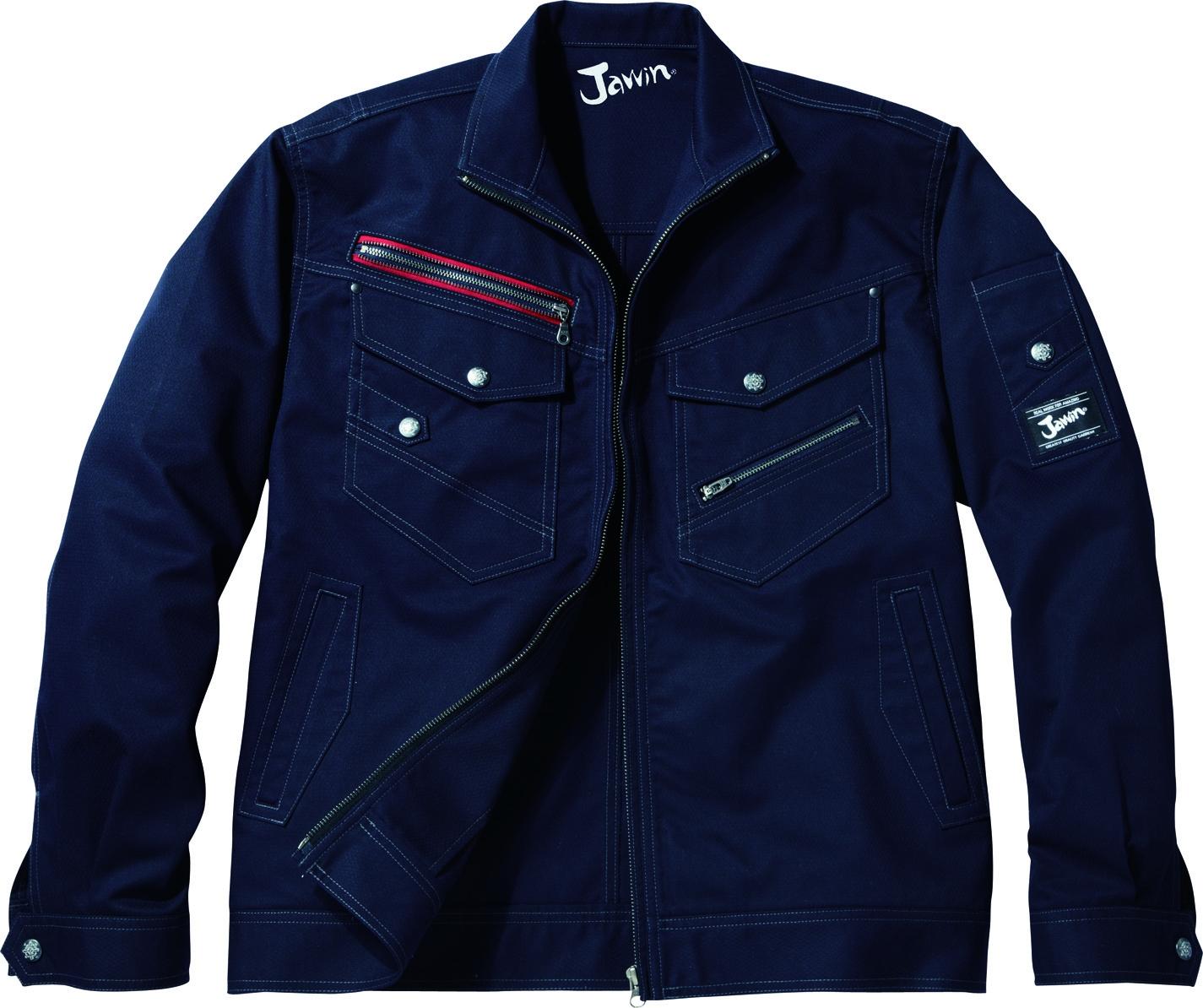 自重堂作業服52100シリーズ 、ワーカーのプライドに響くクールな作業服
