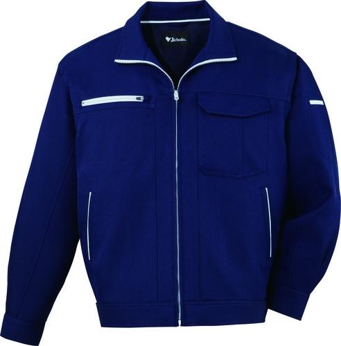 自重堂作業服82300シリーズ。ボリューム感のある裏綿素材を使用した男女ペア作業服