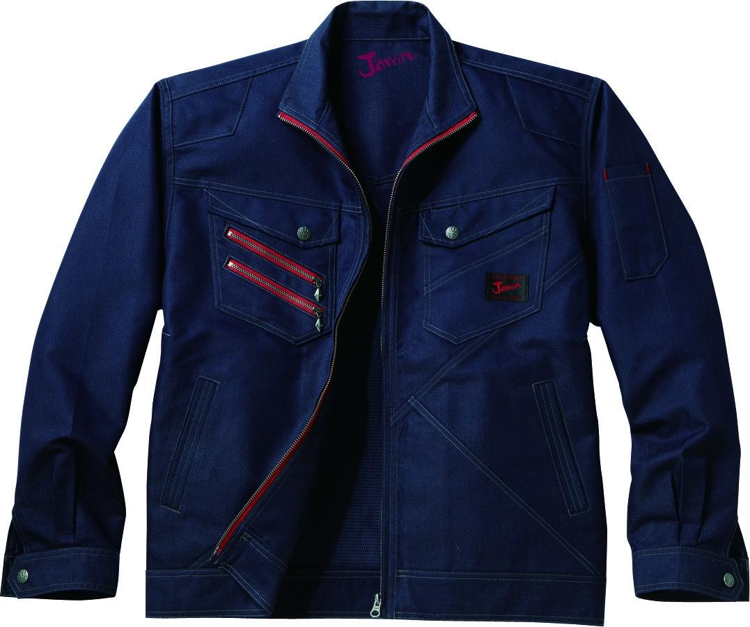 自重堂作業服52300シリーズ デザイン性と機能性を兼ね備えた至極の一着