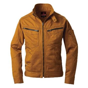 バートル作業服(旧クロカメ被服)5501シリーズ 美しいラインに機能性を備えた綿100%素材の作業服