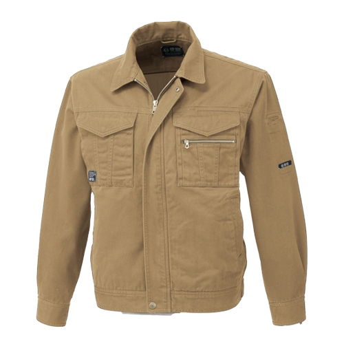 CHUSAN(中国産業)作業服6955シリーズ 肌触りの良い国産綿100%作業服