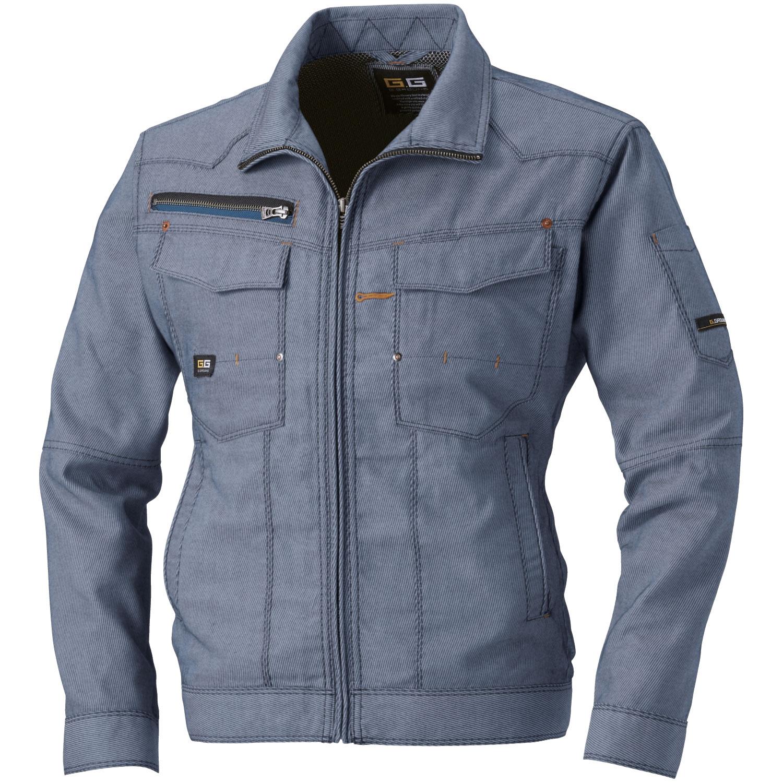桑和作業服873シリーズ G.GROUNDハードワーク対応のスタイリッシュ作業服