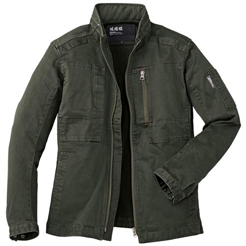 ジーベック作業服2280シリーズ ストレッチ素材+ひじ・ひざの立体裁断で動きやすい作業服