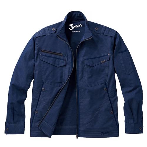 自重堂作業服56600シリーズJawin清涼感のある麻ストレッチ作業服