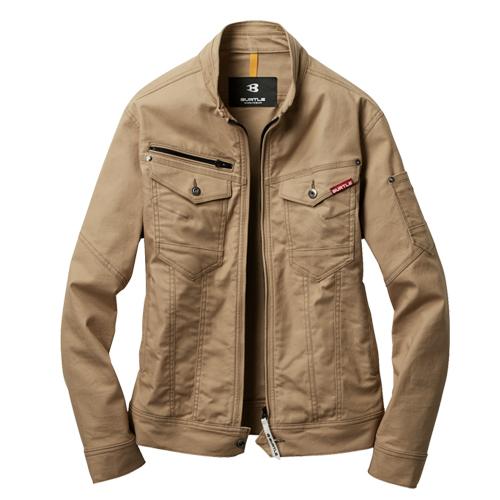 バートル作業服(旧クロカメ被服)541シリーズ高ストレッチ素材のスリムシルエット作業服