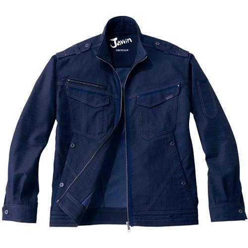 自重堂作業服52600シリーズJawin伸縮性に優れたストレッチ作業服