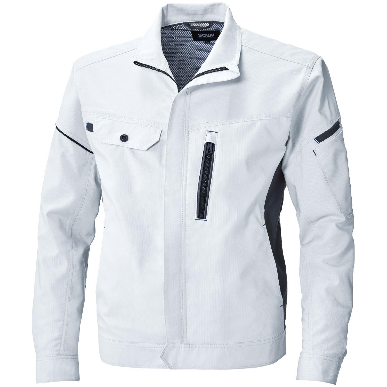 桑和作業服3018シリーズ 使い勝手にも優れたストレッチ作業服