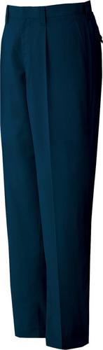 DESK82201 製品制電吸湿発熱ワンタックパンツ 011/ネービー