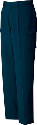 DESK82202 製品制電吸湿発熱ワンタックカーゴパンツ 011/ネービー