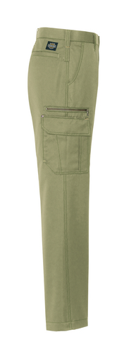 AZ-3821 カーゴパンツ(ノータック) 右側ポケット