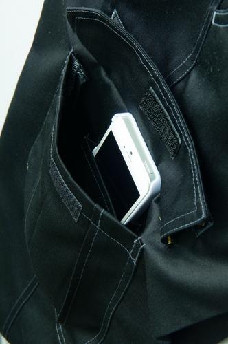 AZ-3821 カーゴパンツ(ノータック) 携帯電話収納ポケット