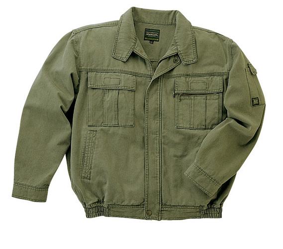 TAKA_GC2000 GRANCISCO(グランシスコ)長袖ブルゾン[社名刺繍無料] 2/ハンターグリーン