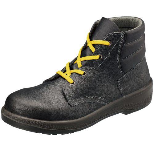 シモン安全靴 7522 黒静電靴