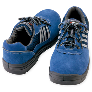 AZ-59821 セーフティシューズ(ウレタン短靴ヒモ) 008/ネイビー