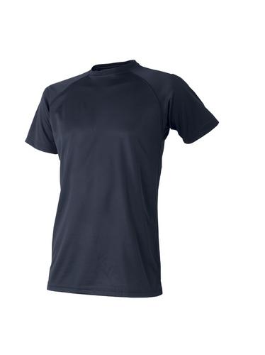 ATACKBASE-309-15 白金ナノ消臭半袖Tシャツ 02/ネイビー