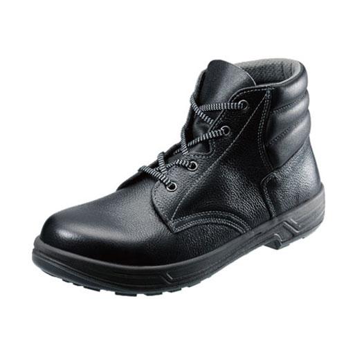 シモン安全靴SS22 黒 編上靴