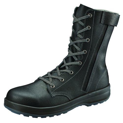 シモン安全靴 SS33 C付 黒 長編上靴(チャック付)