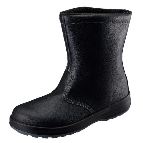 シモン安全靴SS44 黒 半長靴