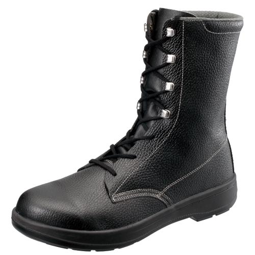 SIMON-AW33 シモン安全靴 AW33 黒 長編上靴