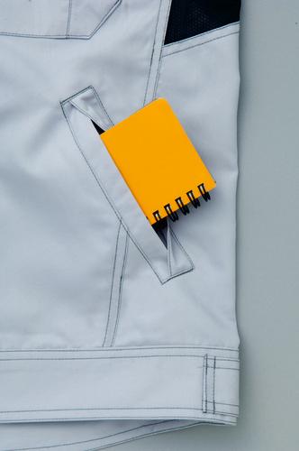 AZ-3830 長袖ブルゾン[社名刺繍無料] ターンポケット