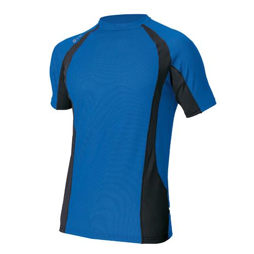 AZ-551035 コンプレスフィット半袖シャツ 006/ブルー