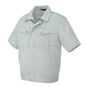 AZ-5661 半袖ブルゾン[社名刺繍無料] 003/シルバーグレー