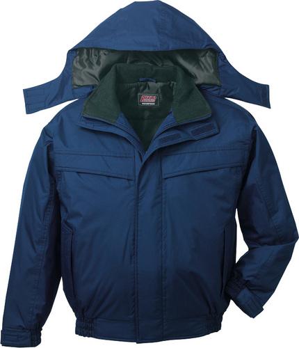DESK48460 防水防寒長袖ブルゾン(フード付) 011/ネービー
