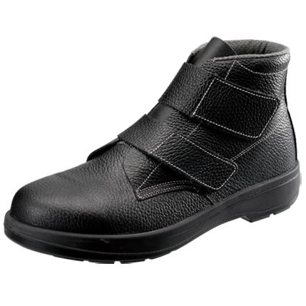 SIMON-AW28 シモン安全靴 AW28 黒 中編上靴