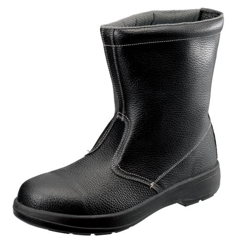 SIMON-AW44 シモン安全靴 AW44 黒 半長靴