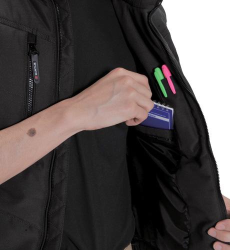 BURTLE5234 防寒ベスト 内ペンポケット(左)</br> 内ポケット(左)