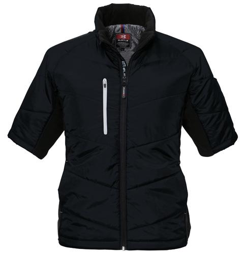 BURTLE7316 半袖防寒ブルゾン 35/ブラック