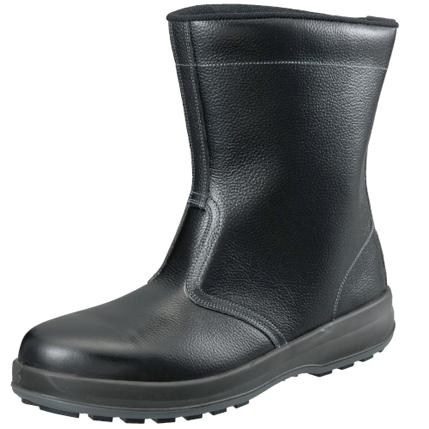 SIMON-WS44 シモン安全靴 WS44 黒 半長靴