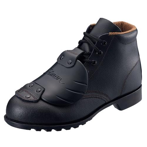 SIMON-FD22D6 シモン安全靴 FD22 D-6 黒 樹脂甲プロ編上靴