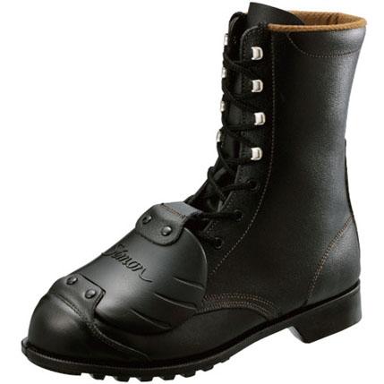 シモン安全靴 FD33 D-6 黒 樹脂甲プロ編上靴