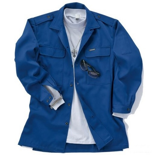 TORA2530-108 寅壱(トライチ)【現品限り】 2530-108 ロングオープンシャツ 在庫限りの大特価 在庫処分 この商品は同じ形のC/20花コンです。