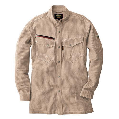 CUC8511 DOGMAN長袖シャツ 13/ブラウン