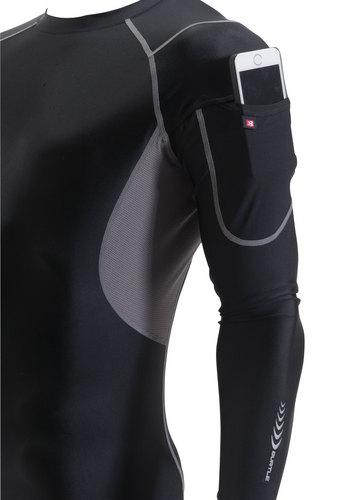BURTLE4032 クールフィッテッド 業界初!袖部マルチポケット 袖には収納に便利なマルチポケット付き。