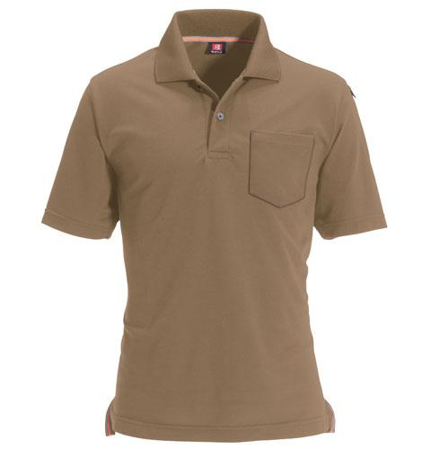 BURTLE507 半袖ポロシャツ 24/キャメル