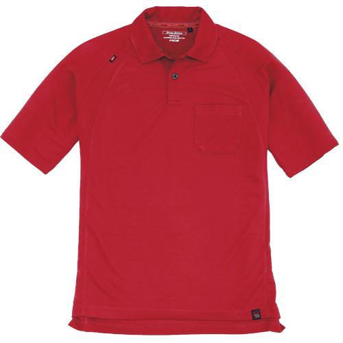 BURTLE105 半袖ポロシャツ カラー:レッド